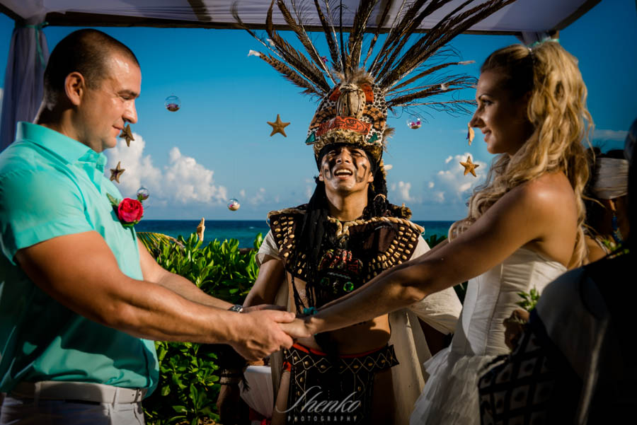 Wedding with Mayan Shaman and a two-day photo tour to the splendid spots of the Peninsula