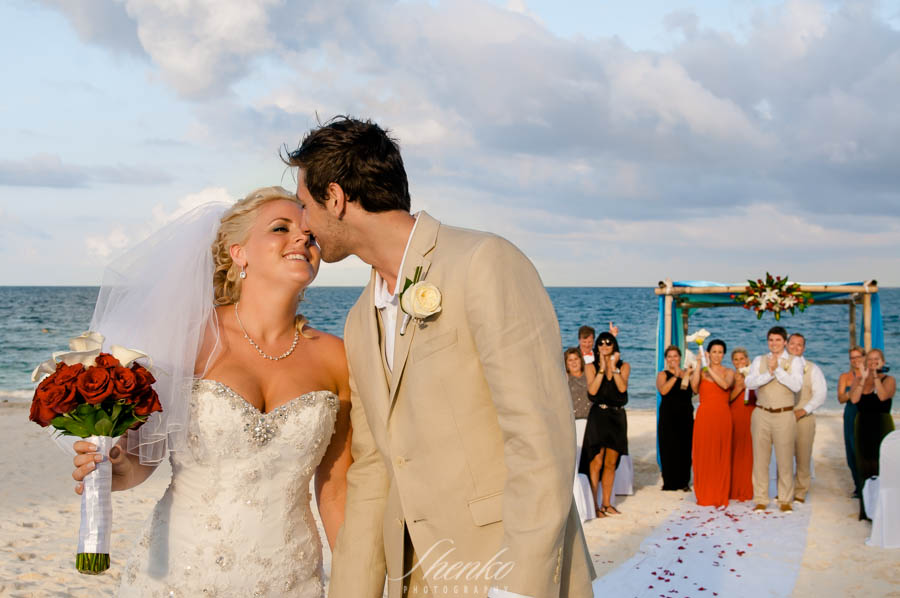 Wedding ceremony at Now Sapphire Riviera Cancun