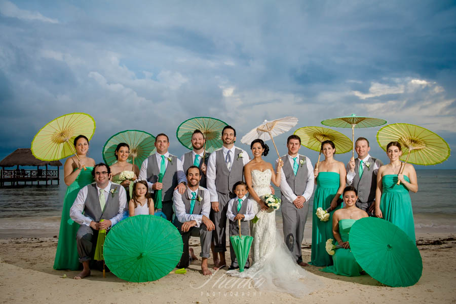 Awesome destination wedding at Azul Sensatori, Mexico. Elana + Cullen