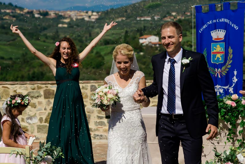photojournalistic best wedding shot in italy
