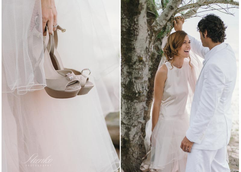 beautiful french couple getting married in Esencia riviera maya