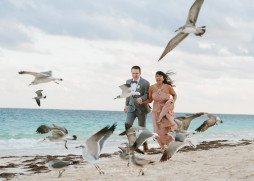 Destination wedding at Dreams Riviera Maya | Marie + Marlon
