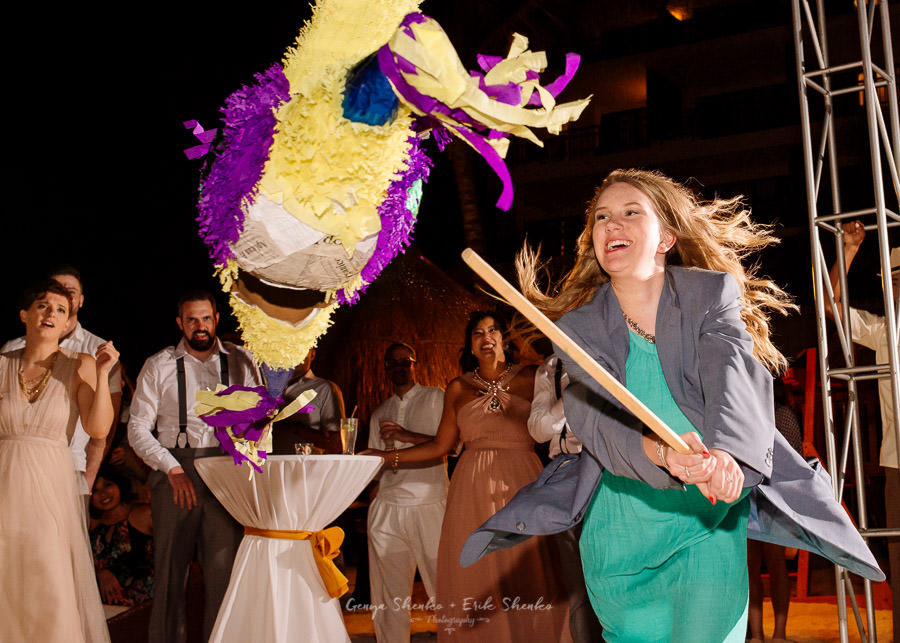 piñata-at-the-wedding-riviera-maya-mexico