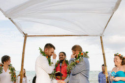 Destination wedding in Akumal, Tulum | Ben + Frank