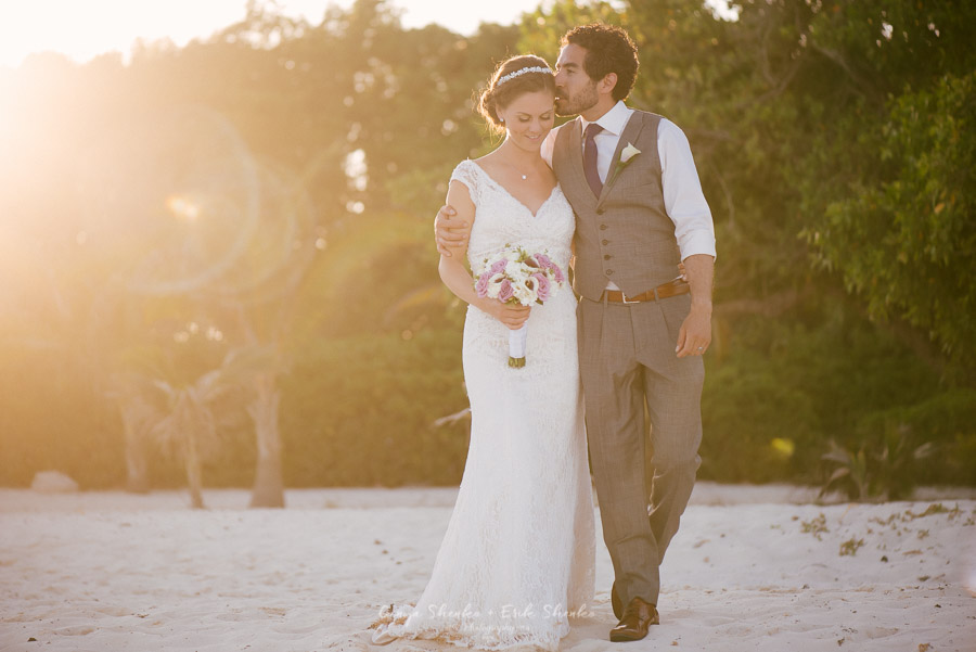 Romantic off resort Wedding at Grand Coral Beach | M+D