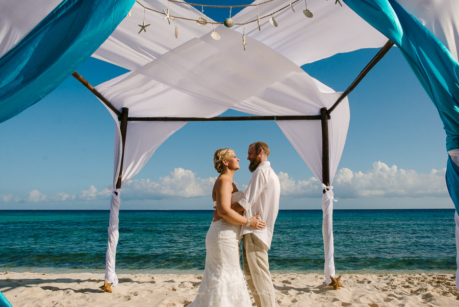 Destination Wedding at Playa del Carmen | Blue Venado