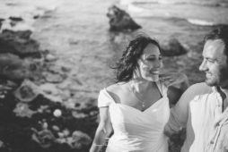 Intimate wedding at Isla Mujeres | Casa Ixchel wedding Kara + Purdy